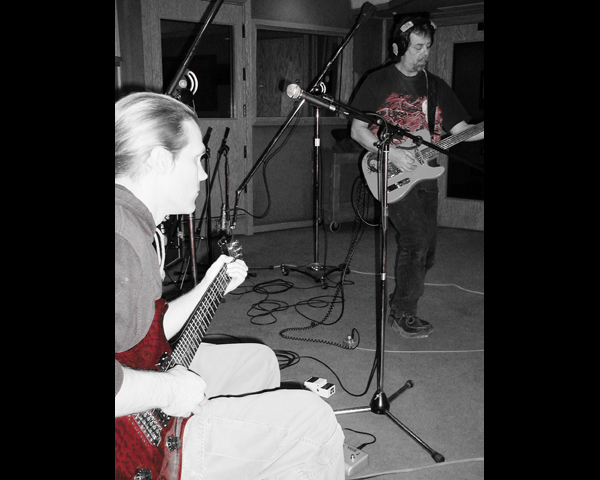 David and Rob were on guitars.