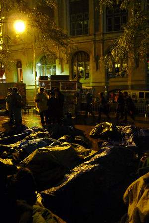 Occupy: Sleeping in Liberty Square